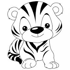 Dessin a imprimer des mignon is important information accompanied by photo and hd pictures sourced from all websites in the world. Coloriage Tigre Mignon Dessin Gratuit A Imprimer