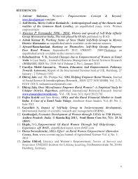 REFERENCES: 1. Aminur Rahman, Women's Empowerment: Concept & Beyond,  www.development concepts. 2. Asif Dowla, Micro Crdit