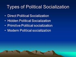 political socialization ppt types of political socialization
