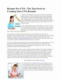 Awesome Cna Job Description For Resume Resume Design Stunning Cna Responsibilities For Resume