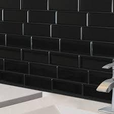 Fabulous Black Subway Tile 4 Reasons You Should Use Black Subway Tile In  Your Bathroom
