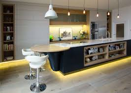 Kitchen Island Modern Kitchen Creative Lighting Kitchen Decor With White Modern
