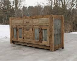 barnwood cabinet doors. rustic vanity (64\ barnwood cabinet doors e