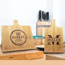 personalised cooking gifts australia recipe holder stand personalized cook book personalised cooking gifts