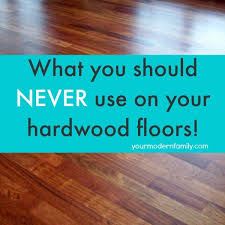 never use pledge or similar s on hardwoods