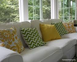 Home Decoration Decorative Throw Pillows For Couch With Chevron