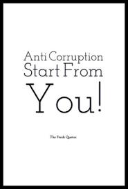 Corruption Quotes Delectable Anti Corruption Slogans And Corruption Quotes Bahan Desain Tshirt