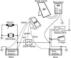 t max winch wiring diagram & trailer wiring diagram 4 wire circuit on simple 12 volt trailer wiring diagram