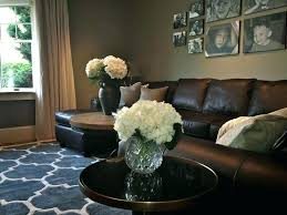 brown leather couches decorating ideas. Modren Brown Living Room Leather Furniture Decorating Ideas Contemporary  With Black Sofa Brown  Inside Couches