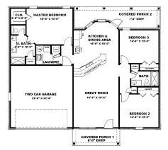 ranch style house plans under 1500 sq ft 3 lovely design square feet house plans