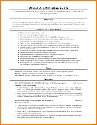 Social Work Resume Skills Resume Summary Social Worker Therpgmovie 99