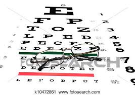 Eye Chart Stock Image K10472861 Fotosearch