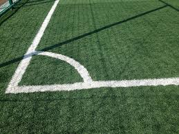 green grass soccer field. Natural Green Grass Soccer Field G