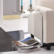 Acrylic Glass Coffee Table Acrylic Side Table Quatrefoil Acrylic Side Table Horchow