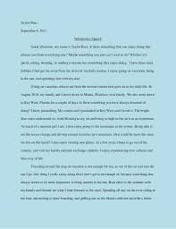 speech essay informative speech examples introduction speech for informative speech hobbies sample two