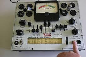 Vintage Eico 625 Tube Tester Tested 6ak5 Good Nice Clean