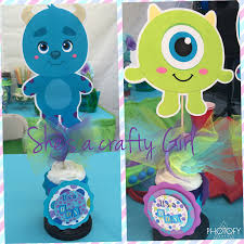 Monster Inc Baby Shower Decorations Uncategorized Shesacraftygirl