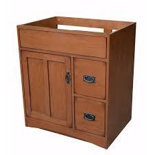 Sunnywood Kitchen Cabinets Sunny Wood Mission Oak 30 Bathroom Vanity Base Wayfair