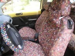 louis vuitton car seat cover settings