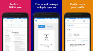 App Resume Best Free Resume Builder Apps For Android Devices