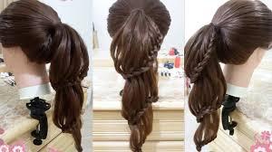 Peinados Faciles De Caballo Con Trenzas Para Cabello Largo Y