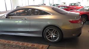 2015 Mercedes-Benz S550 Coupe - YouTube