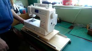 Handmade Machine Quilting Frame - YouTube & Handmade Machine Quilting Frame Adamdwight.com