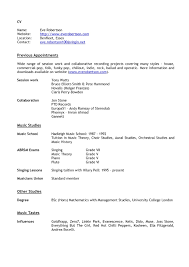 Sample Acting Resume Template Download Music Industry Of 20 Film