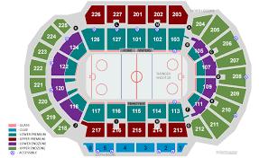 Stockton Arena Seating Chart Stockton Heat Ahl Hockey Game January 9 February 24