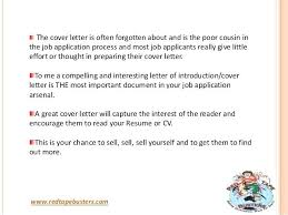 The Importance Of A Cover Letter Is A Cover Letter Important Is