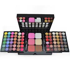 make up for you 78 colors eyeshadow palette powders blush eye face