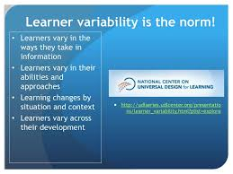 Learner Variability And Universal Design For Learning Ppt Universal Design For Learning Achieving Post