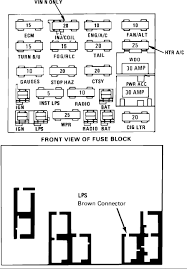 1992 buick century fuse box data wiring diagram today 1992 buick century fuse box