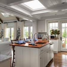 dovetail sw kitchen. brightly lit white kitchen with skylight dovetail sw