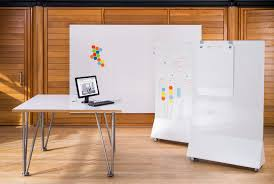 The ThinkingWall Desk features the same high quality drywipe surface as the  other ThinkingWall core products, providing the ability to write notes, ...