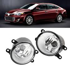 2015 Toyota Avalon Fog Light Assembly Details About For Toyota Camry Corolla Rav4 Matrix Venza Clear Fog Light Driving Lamp Oe Pair