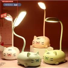 Giá rẻ Đèn ngủ kiêm đèn học pin sạc đa năng dễ thương YW909 pika shop chính  hãng 59,000đ