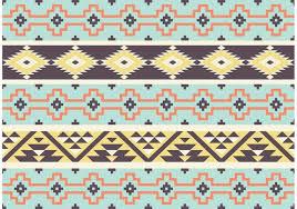Mayan Patterns Cool Aztec Mayan Tribal Pattern Vector Download Free Vector Art Stock