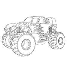 monster jam coloring pages. Unique Monster Monster Truck Coloring Pages  Maximum Destruction In Jam C