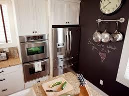 Kitchen: Distinctive Kitchen Chalkboard Wall With Espresso Finish - Chalkboard  Kitchen Canisters