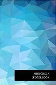 Check Ledger Mini Check Ledger Book Insignia Accounts 9781521299456 Amazon Com