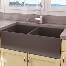 nantucket sinks cape 33u0026quot x 18u0026quot double basin farmhouse apron sink kitchen faucet double basin farmhouse sink q11