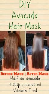 diy hair mask no coconut oil beautiful this diy avocado hair mask for dry hair will