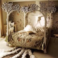 Fancy - Enchanted forest bed frame
