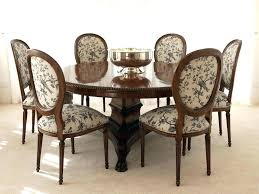dining table set for