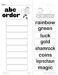 Word Bank Worksheets Kids Alphabetical Order Worksheets Thanksgiving ...