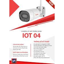 Camera Global IP Wifi IOT 04 (1080P) - Hệ thống camera giám sát Hãng GLOBAL