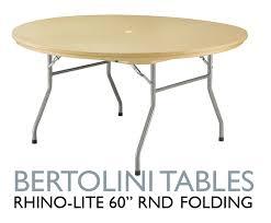 popular of 60 round folding table folding tables bertolini sanctuary seating