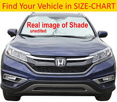 car sizes chart car sun shade size chart for your vehicle excellent uv reflector