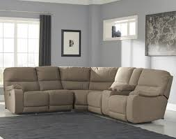 Marlo Furniture Living Room Benchcraft Bohannon Power Reclining Sectional With Console Marlo
